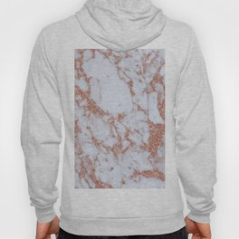 Intense rose gold marble Hoody