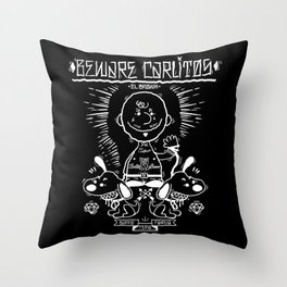 Beware Carlitos! Throw Pillow