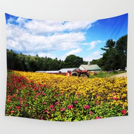 Mountain View Farm, 2 Wall Tapestry