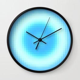 Ripple V Pixelated Wall Clock