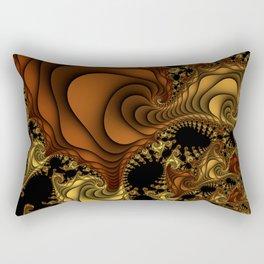 Cornucopia Fractal Rectangular Pillow