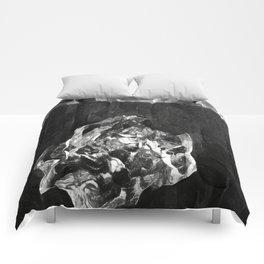 Ice Chunk BW Comforters