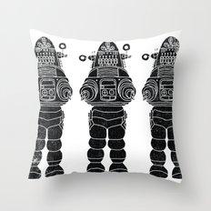 ROBBY THE ROBOT Throw Pillow