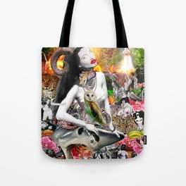 Jungle Melodrama Tote Bag