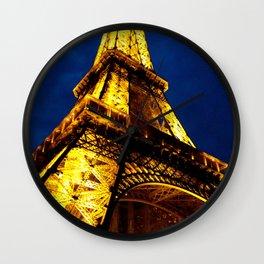 Midnight in Paris Wall Clock