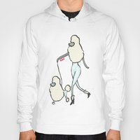 poodle Hoodies featuring Proudly Poodle by miba
