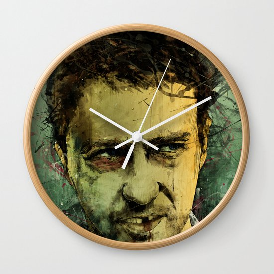 Schizo - Edward Norton Wall Clock
