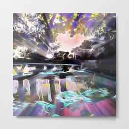 Reflections of Love Metal Print