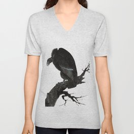 Old World Vulture Unisex V-Neck