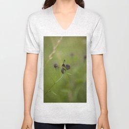 Six-Spot Burnett Moth Unisex V-Neck