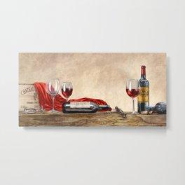 Sandro Ferreri - Grand Cru Wines Metal Print