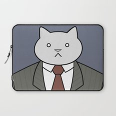 Business Cat Laptop Sleeve