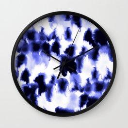 Kindred Spirits Blue Wall Clock