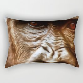 COMPASSION OF THE GORILLA Rectangular Pillow