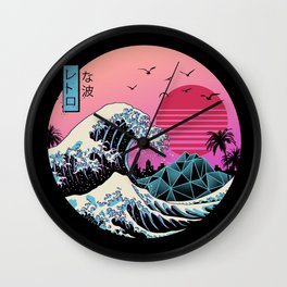 The Great Retro Wave Wall Clock