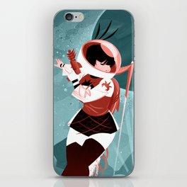 Kickass Annie iPhone Skin