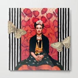 Frida enamorada Metal Print