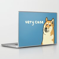 doge Laptop & iPad Skins featuring Doge by evannave