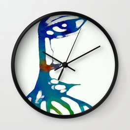 MANGLE LADY Wall Clock