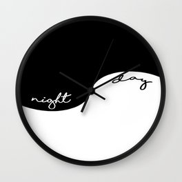 Night & Day Wall Clock