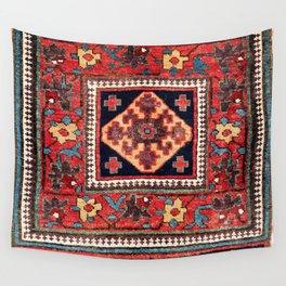 Kurdish Azerbaijan Northwest Persian Bag Face Print Wall Tapestry