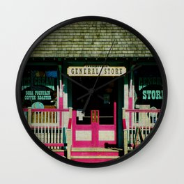 Tannersville General Store Wall Clock