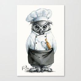 Baker Owl Canvas Print