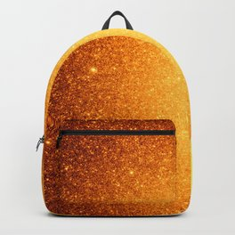 Golden Sun Stars Backpack