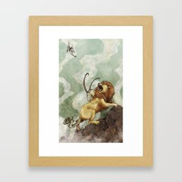 The Chimera Framed Art Print