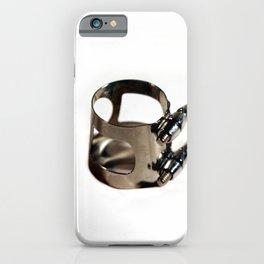 Ligature iPhone Case