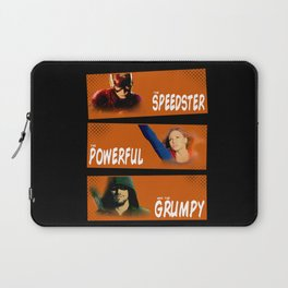 The Speedster, the Powerful, and the Grumpy Laptop Sleeve