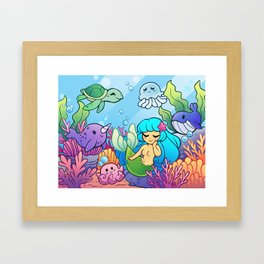 Sea Cuties Framed Art Print