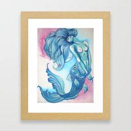 Mischelle Framed Art Print