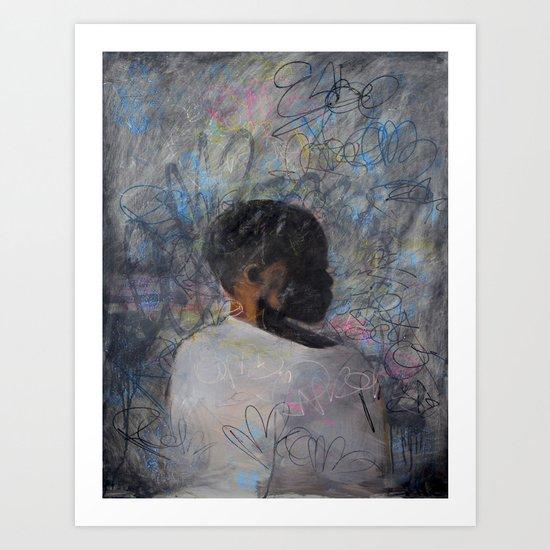 Orphan Portrait Art Print