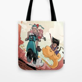Search for the Dragon Tote Bag