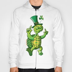 Saint Patrick's Day Green Turtle Hoody
