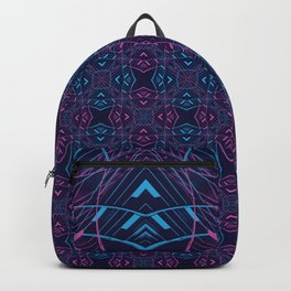 VISION / part two / neon Backpack