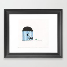 You're Doing it All Wrong Framed Art Print