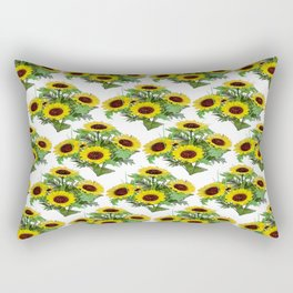 Garden Of Sunflowers Rectangular Pillow