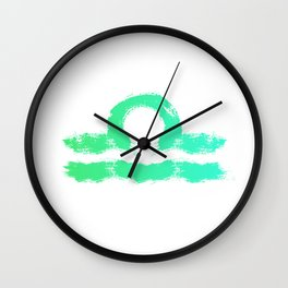 Zodiac sign Libra Wall Clock