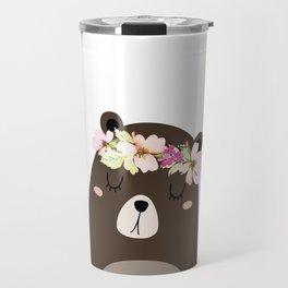 Woodland Bear Travel Mug