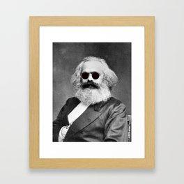 Cool Marx Framed Art Print