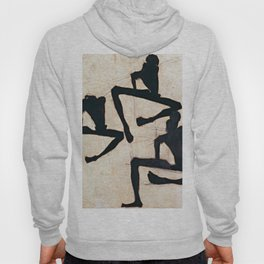 Egon Schiele Composition with Three Figures Hoody