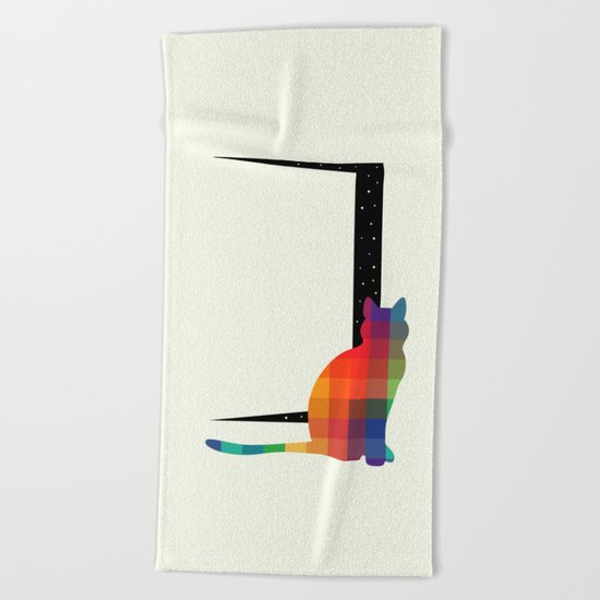 Curiosity Beach Towel