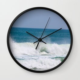 Shaping the Shoreline Wall Clock