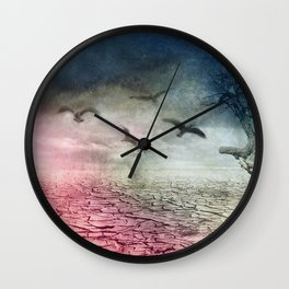 despair  - water is life -2- Wall Clock
