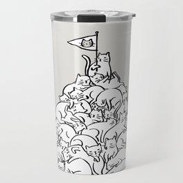 Meowtain Travel Mug
