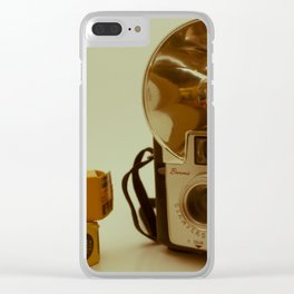 Kodak Brownie Camera Clear iPhone Case