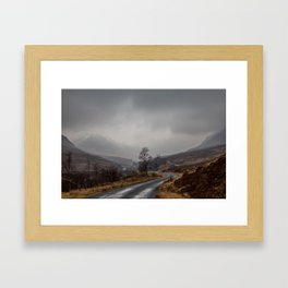 Misty Etive Framed Art Print