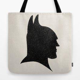 The Bat-Man Silhouette Tote Bag